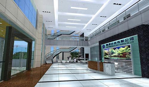 大厅设计-百泽日化有限公司