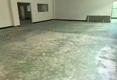 三东莞洋马达无尘车间环氧地坪漆施工