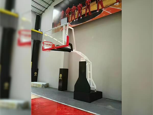 高档仿电动平箱篮球架