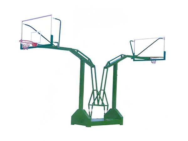 凹箱燕式篮球架