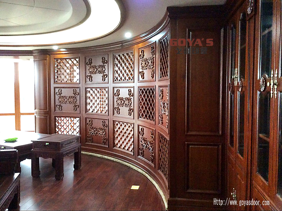 原木橱柜门板|实木橱柜门板|原木门品牌|广东木门厂