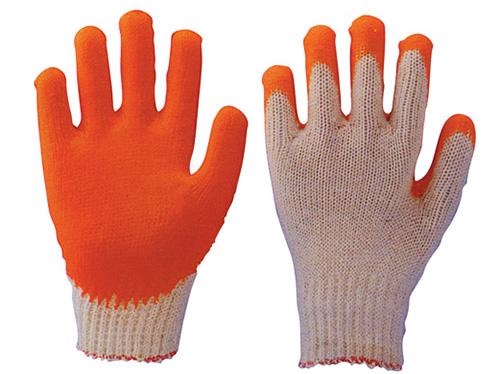 涂胶棉纱手套