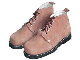 耐高温钢头皮鞋