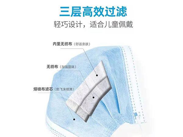 三层无纺布日用防护口罩