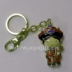 金屬鑰匙扣 鑰匙扣掛件 帝王帝后鑰匙扣工藝飾品