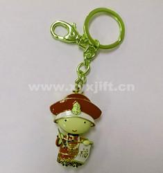 金屬鑰匙扣 鑰匙扣掛件 帝王鑰匙扣工藝飾品