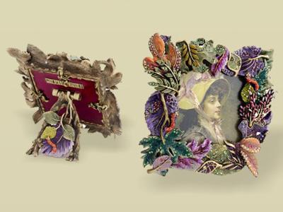 東莞金屬相框擺件 相框相架 金屬擺件 花卉相框擺件 亮美工藝飾品廠家