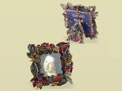 東莞金屬相框擺件 相框相架 金屬擺件 花卉相框擺件 亮美工藝飾品