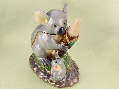 東莞金屬珠寶首飾盒 珠寶盒 動物首飾盒 動物系列樹癩首飾珠寶盒 亮美工藝飾品有限公司