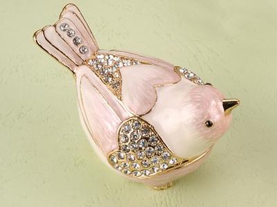 东莞金属珠宝首饰盒 珠宝盒 动物首饰盒 动物系列bird