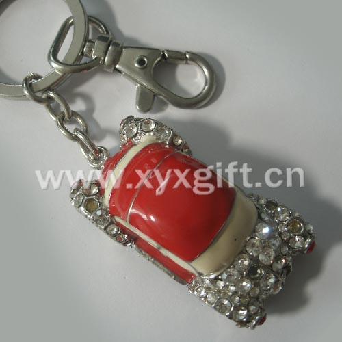 東莞金屬鑰匙扣 鑰匙扣掛件 亮美小汽車鑰匙扣工藝飾品