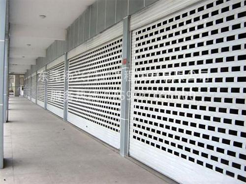 網狀電動卷閘門