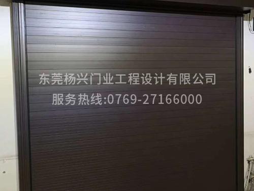 東莞電動鋁卷車庫門