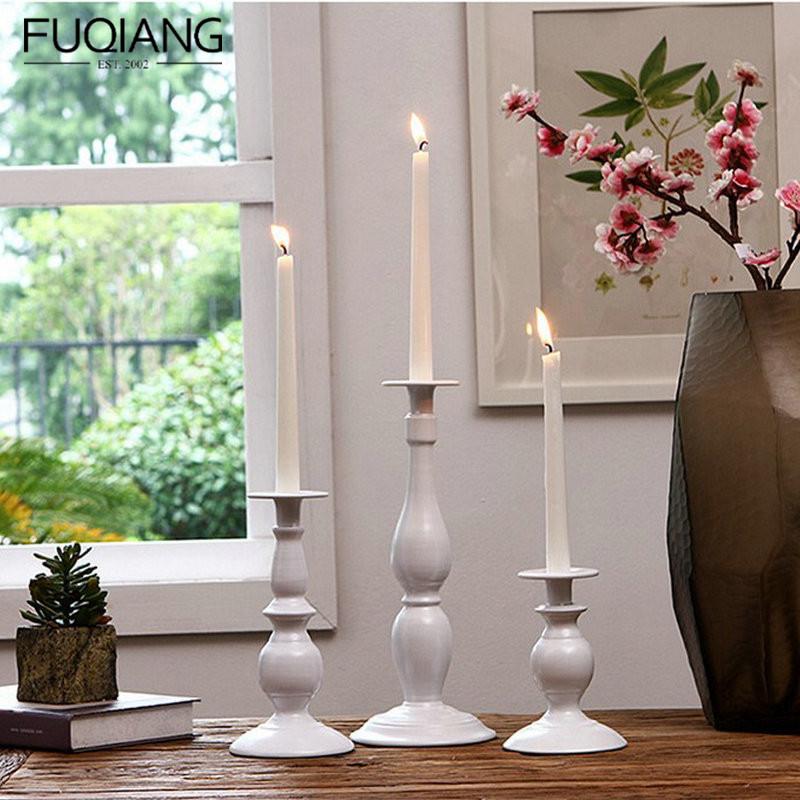 普通欧式长白蜡烛