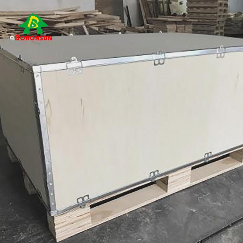 出口_可拆卸钢带木箱供应厂家_柏森包装