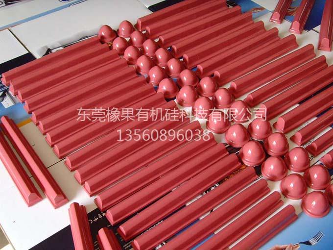 红色材料移印胶头