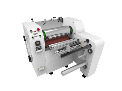 XHM500-J 不干胶商标覆膜机(纠偏型)