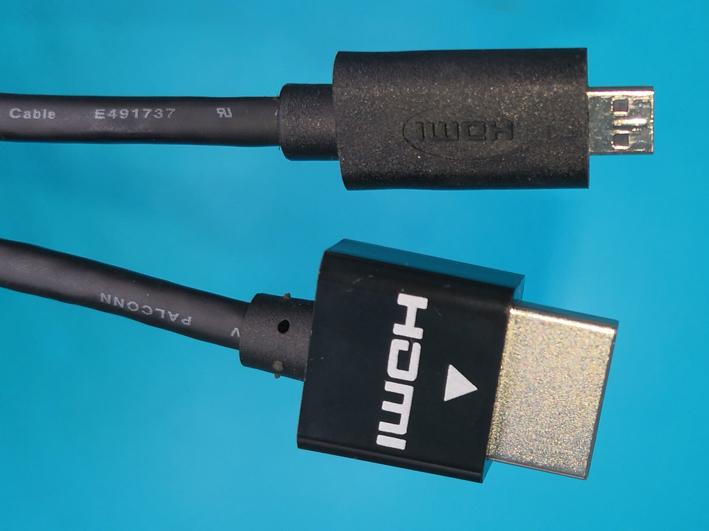 HDMI A MALE TO HDMI D MALE