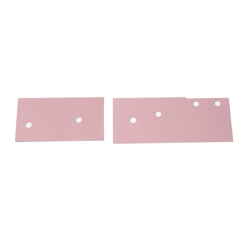 粉色矽膠片