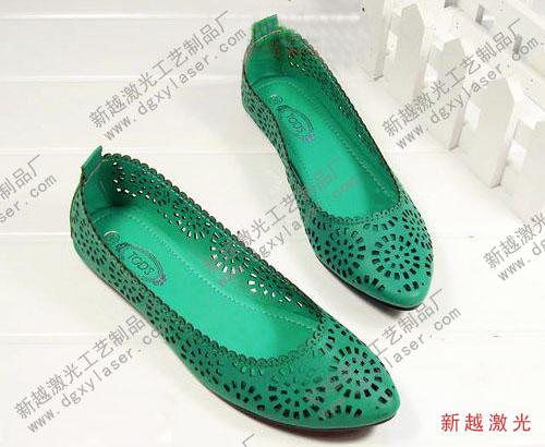 女式鞋激光加工