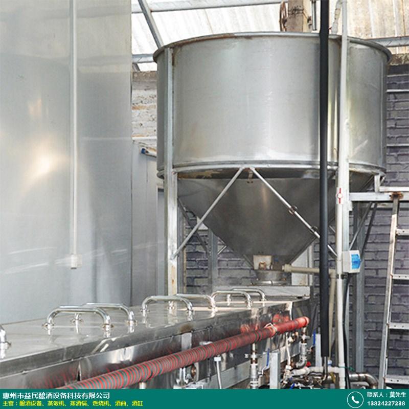 潍坊小型酒厂酿酒设备_益民酿酒_新式_自动_全自动_不锈钢