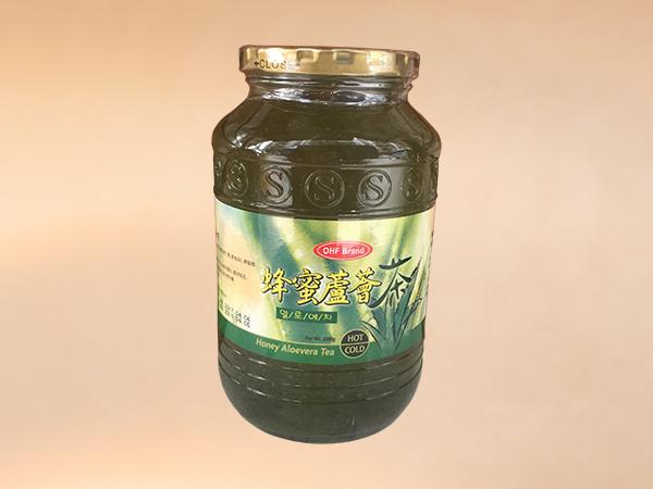 蜂蜜蘆薈茶
