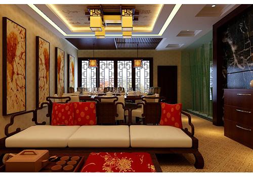 中式室内装饰-东莞市豪尚装饰工程有限公司-企讯网