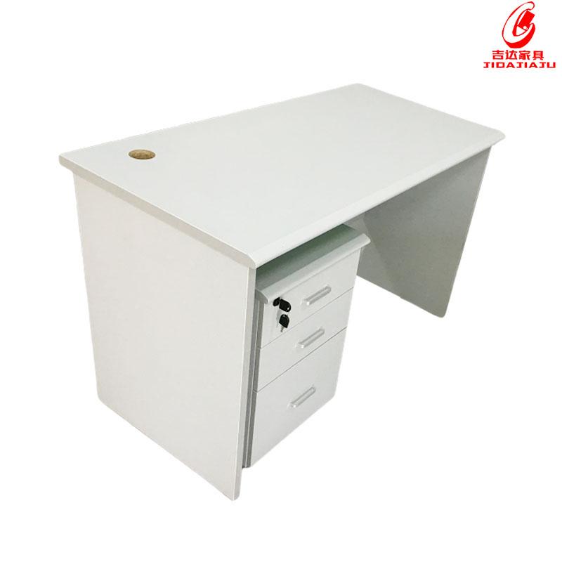防火板鴨嘴邊辦公桌 (2)