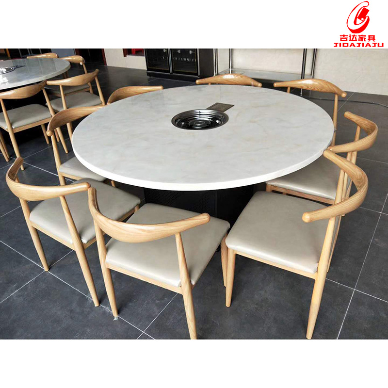 大理石餐桌椅