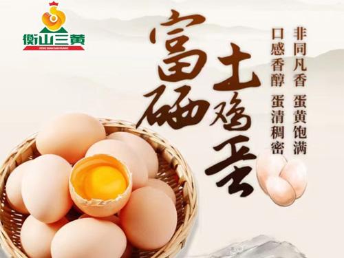 富硒土雞蛋