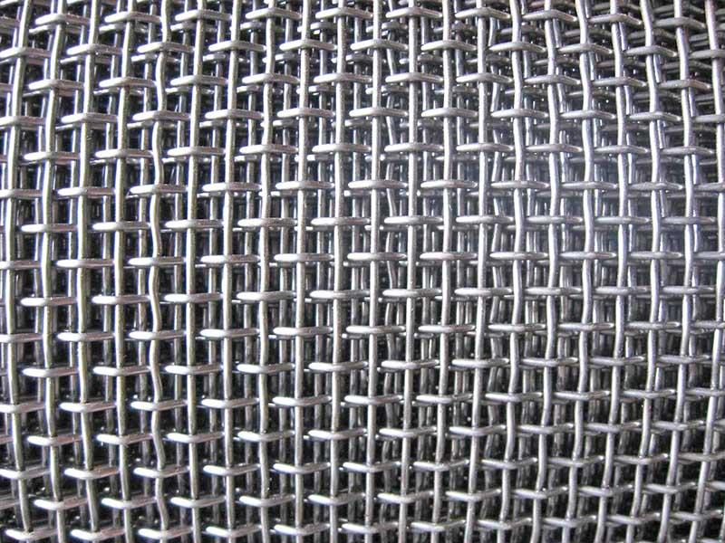 金属轧花网生产