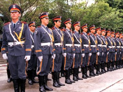 广州保安公司 日常训练