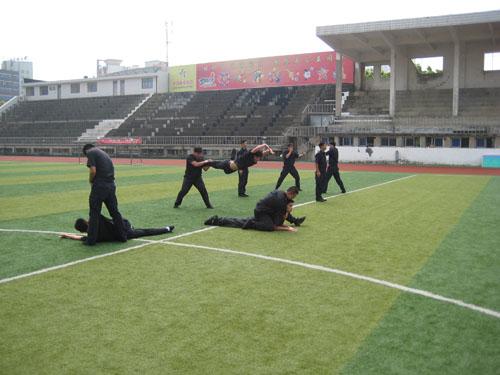中山保安训练