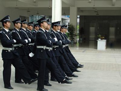 深圳保安操练