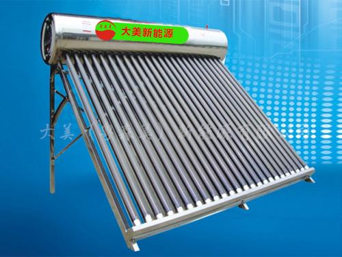 真空管太阳能热水器(节能金钢)