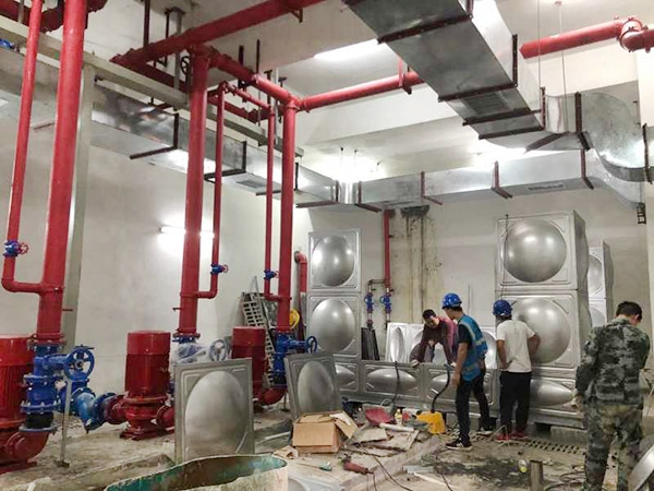 東莞暉速通訊消防安裝工程,復工收尾階段,搬磚要以結果為導向