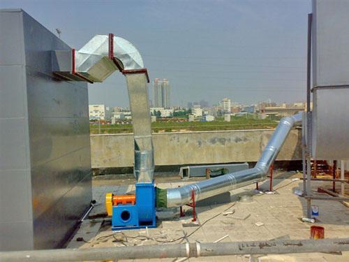 厂房降温工程-风管