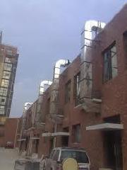 厂房降温工程-排气管