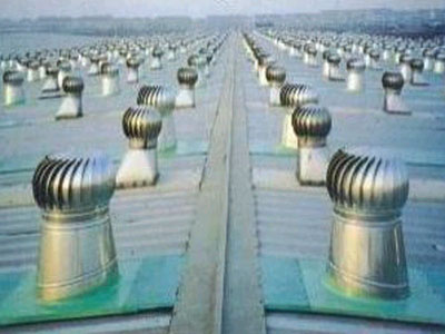 厂房降温工程-换气