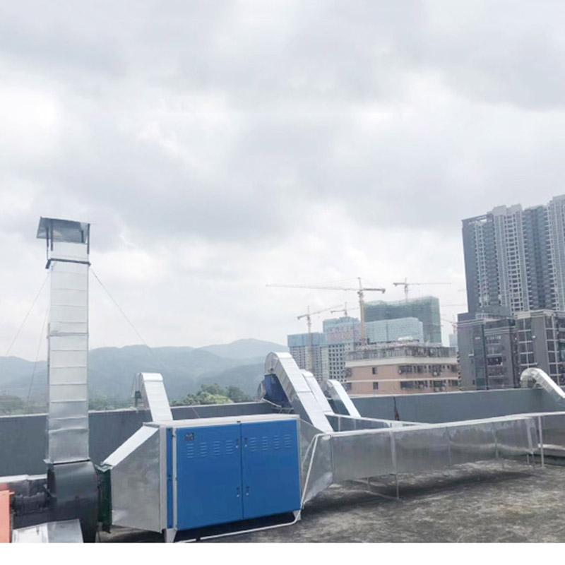 工厂_台山废气净化设备生产厂家_恒达通风