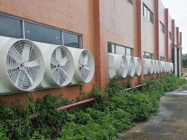 玻璃鋼風機通風排氣工程