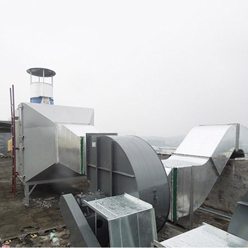 罗阳专业废气净化设备生产厂家_恒达通风_粉尘_小型工业_工厂