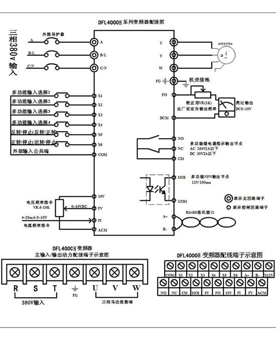 深圳丹富莱三相恒压供水变频器
