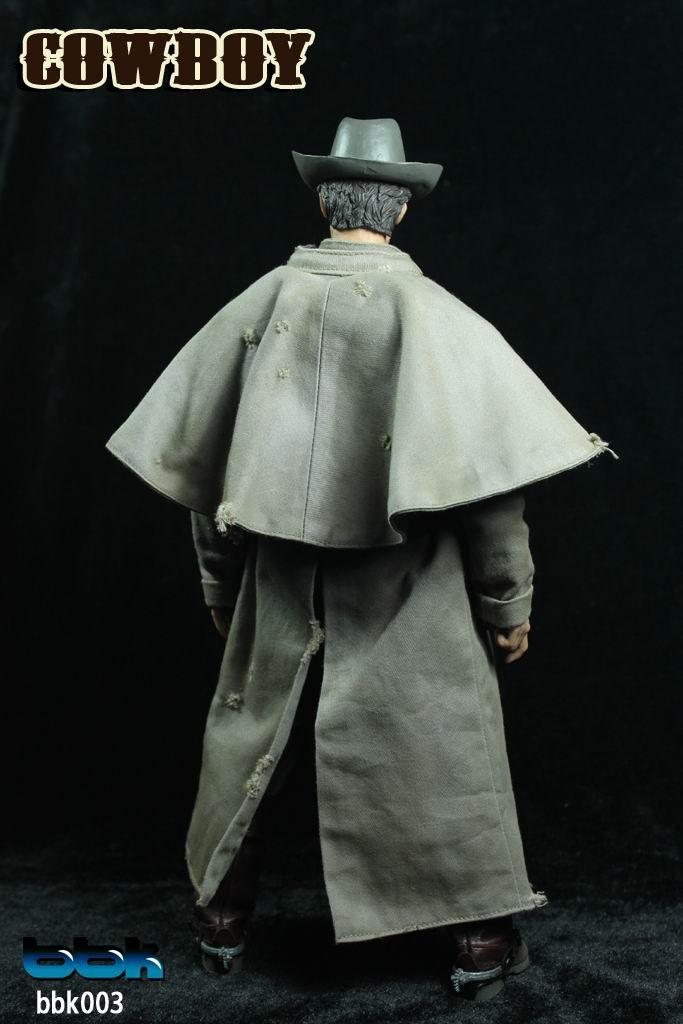 BBK 1\/6兵人西部牛仔 疤面人-东莞市益创玩具