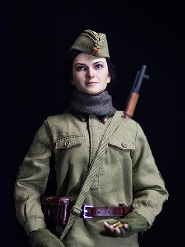 苏联女兵人