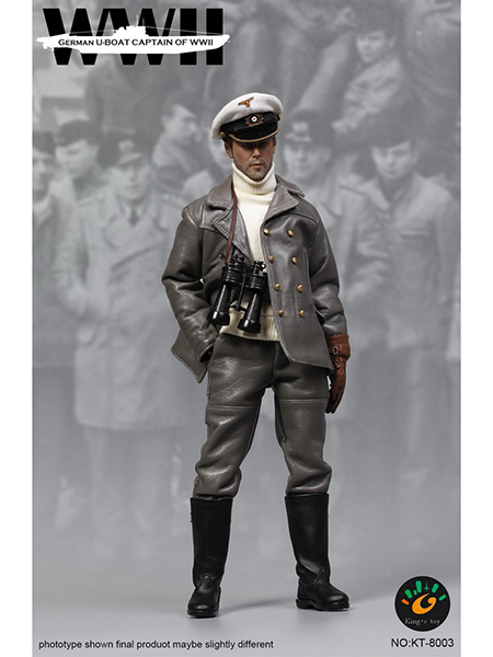 Kings Toys KT-8003 1/6 WWII 德国海军U艇 艇长 兵人偶