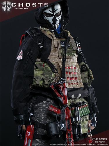 FLAGSET-73010末日战争系列 END WAR 死神小队 K 凯撒