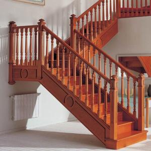 东莞木制楼梯扶手