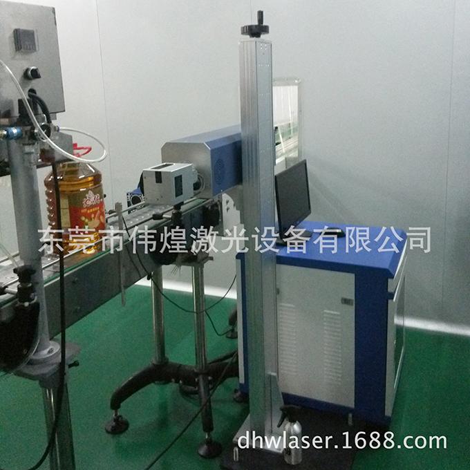 食用油桶激光打码机,生产日期激光喷码机