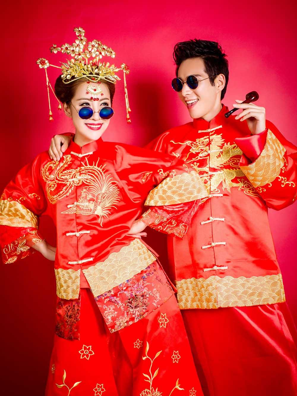 东莞婚纱照,现代古装